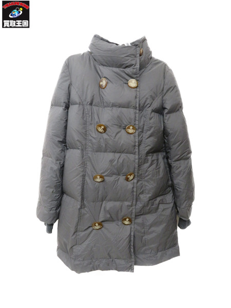 Vivienne Westwood red label/オーブボタンフーディダウンコート/Size3【中古】[▼]