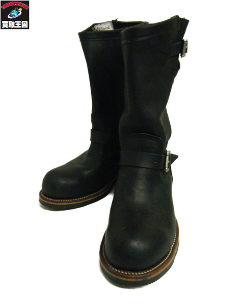 Chippewa エンジニアブーツ 27899 8 1/2E 黒【中古】