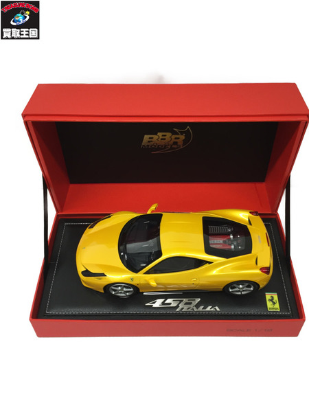 BBR 1/18 フェラーリ458 イタリア 2009 【中古】