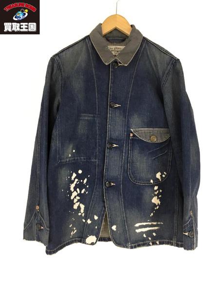 LEVI'S VINTAGE CLOTHING サックコート (L) ブルー【中古】[▼]