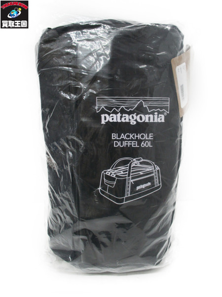 patagonia/Black Hole Duffel/60L/黒【中古】