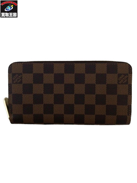 LOUIS VUITTON/ダミエ・エベヌ/ジッピーウォレット【中古】