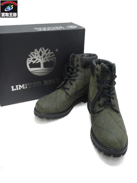 Timberland 6 in. Premium Boot Black Helcor (27.5)【中古】[▼]