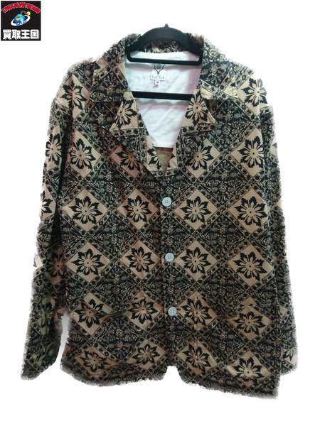 South2 West8 20SS Pen Jacket-Printed Flannel Batik M GL834【中古】