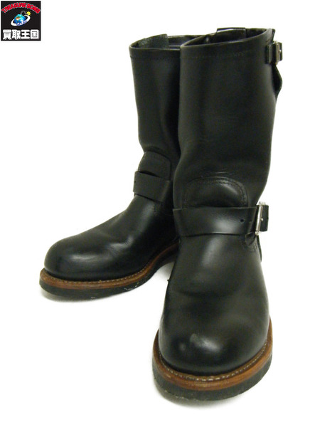 RED WING 2268 エンジニア 8-1/2 黒【中古】