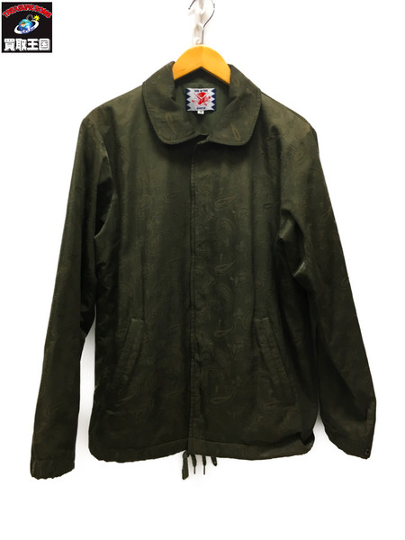 SON OF THE CHEESE PAISELEY COACH JACKET (M)【中古】