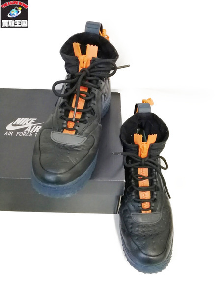 NIKE/AIR FORCE 1 WTR GTX/GORETEX/CQ7211-001/BLK/26.5cm【中古】