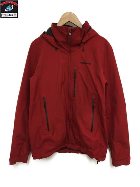 patagonia/piolet jacket/GORE-TEX/S/赤【中古】[▼]