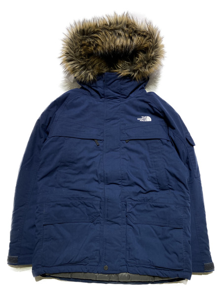 THE NORTH FACE/MCMURDO PARKA/L/ネイビー【中古】