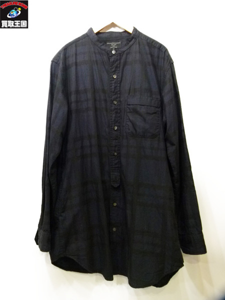 Engineered Garments BANDED COLLAR LONG SHIRT M FREAK'S STORE【中古】