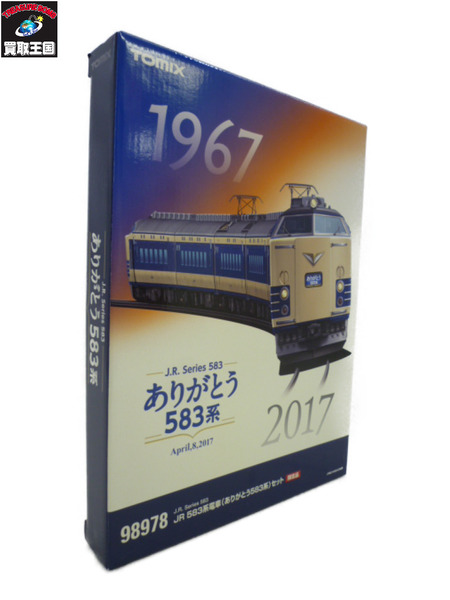 TOMIX 98978 JR 583系電車(ありがとう583系)6両【中古】