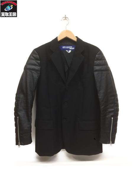 JUNYA WATANABE Wool Hop Sack Jacket(XS)黒【中古】[▼]