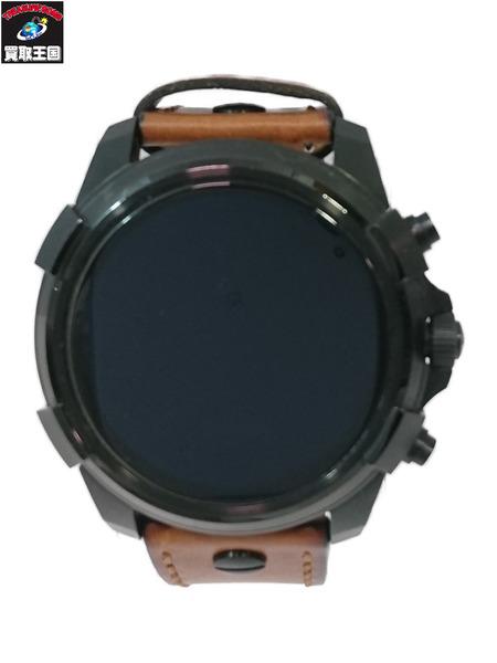 DIESEL ディーゼル On DW4D/タッチスクリーンスマートウォッチ/フルガード/ラウンドタイプ/腕時計【中古】