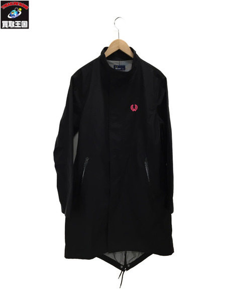 FRED PERRY SOHO NEON GARMENT DYED FISHTAIL PARKA F2389【中古】