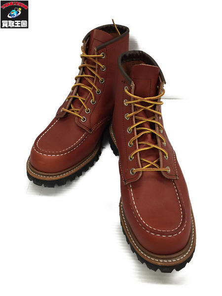 RED WING CLASSIC WORK 6inch MOC-TOE ワークブーツ 26.5cm US8.5【中古】