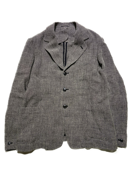 OLD MAN'S TAILOR/19SS/LINEN SACK JACKET/38【中古】[▼]