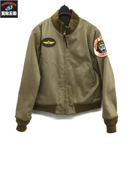 Dry Bones ドライボーンズ Tankers Jacket タンカースジャケット 36 カーキ ミリタリージャケット【中古】