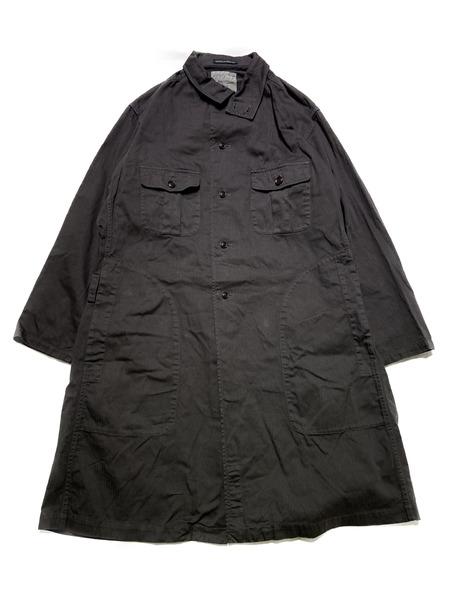 Yohji Yamamoto POUR HOMME/17aw Military Coat/2/ブラック【中古】