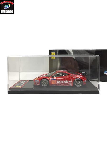 BBR フェラーリ 458 Italia LM GTE AM 24h 1/43【中古】