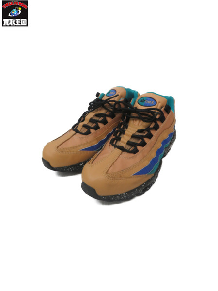 NIKE AIR MAX 95 PREMIUM/Praline Turbo Green(29.0)【中古】
