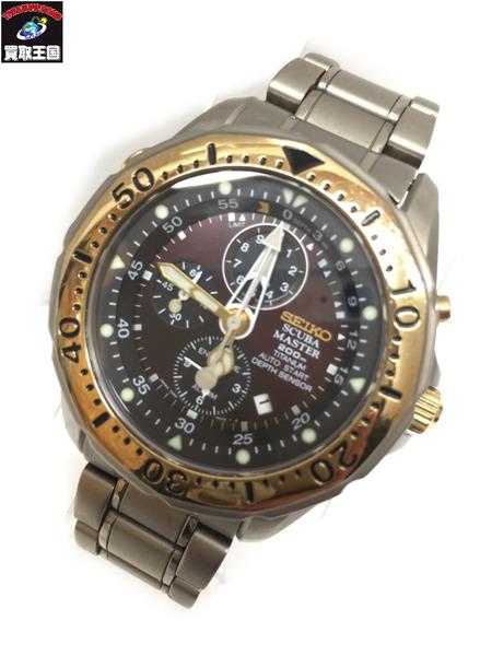 SEIKO SCUBA MASTER 200M クオーツ 7K52-6A00 セイコー スキューバマスター 腕時計 クォーツウォッチ【中古】