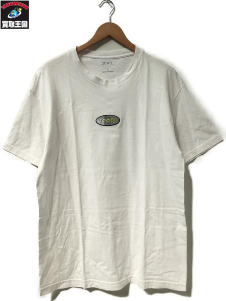 700FILL 600FILL刺繍 Tシャツ ホワイト L【中古】
