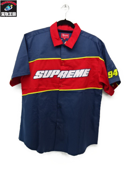 Supreme Color Brocked Work Shirt(M)【中古】