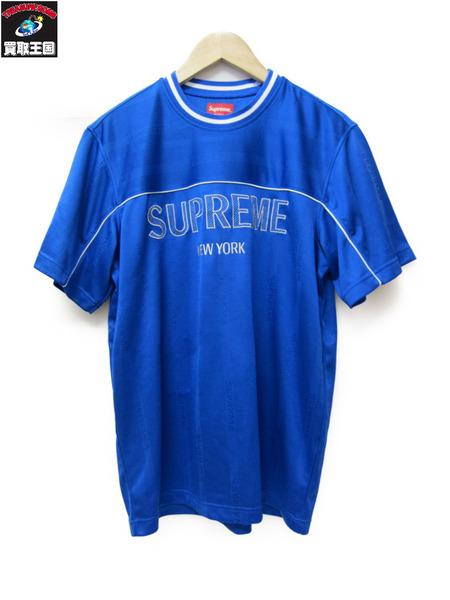 Supreme 18SS Dazzle Warm Up Top 青 M【中古】
