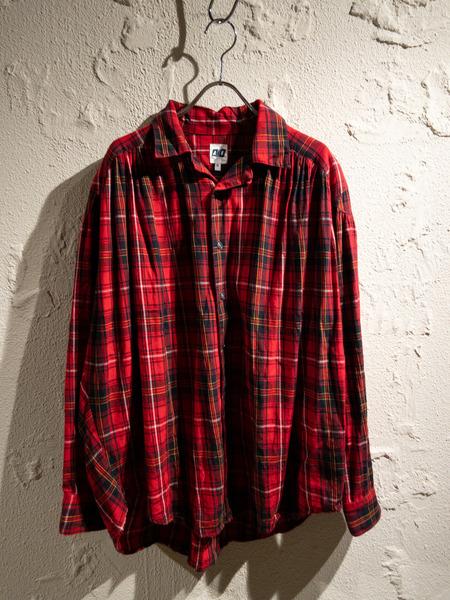 国産品 AIE/18AW/Painter Shirts/S/レッド【】[▼], 久米町 56ecc397