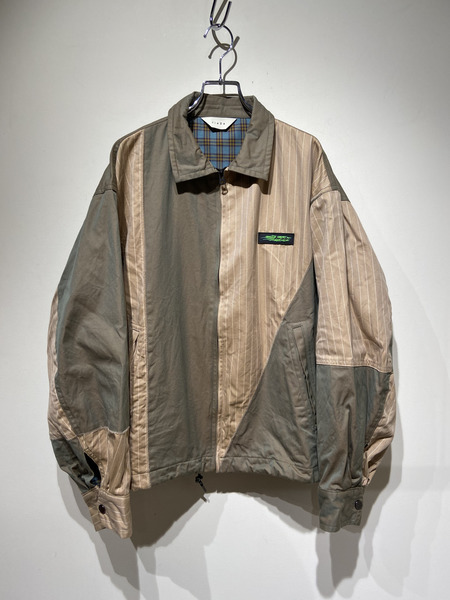 Jieda/19AW/SWITCHING JACKET/2/ベージュ【中古】