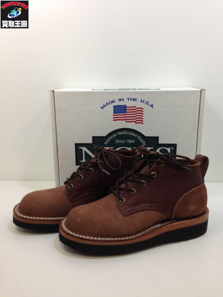 NICKS BOOTS OXFORD CCHOCOLATE (SDIZE:8E) 未使用【中古】
