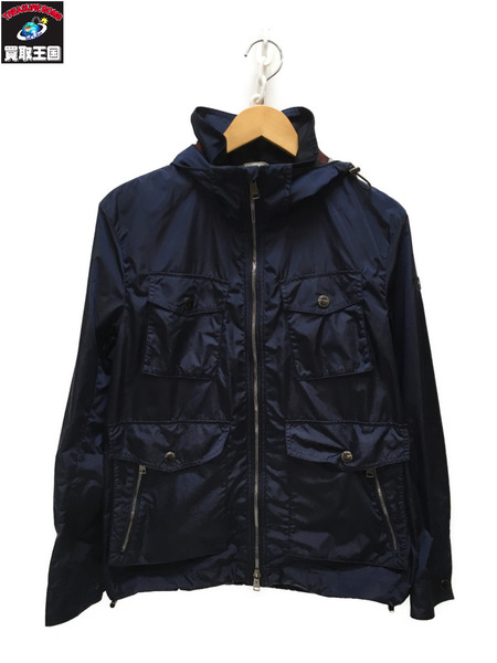 BLACK LABEL CRESTBRIDGE M-65 ナイロンジャケット ネイビー L【中古】