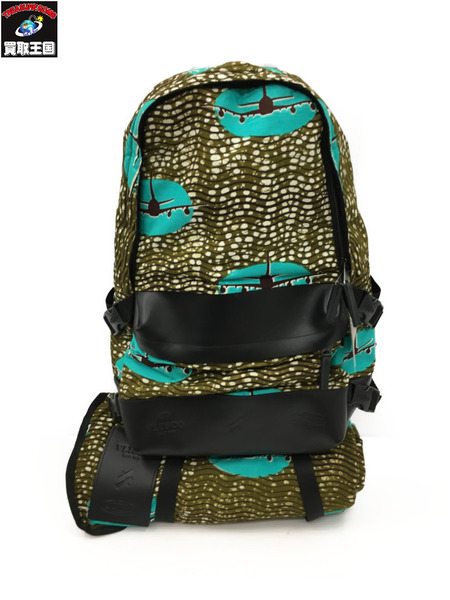 EASTPAK × VLISCO Vlisco Bp Speed Plane 2 バックパック 総柄【中古】