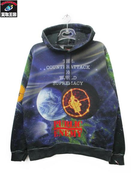 Supreme×UNDERCOVER シュプリーム×アンダーカバー Public Enemy Hooded Sweatshirt M【中古】[値下]