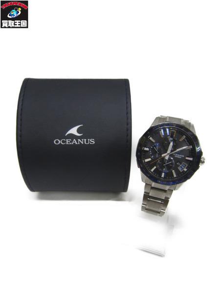 CASIO オシアナス 0CW-G2000 Bluetooth搭載GPS電波ソーラー 時計 【中古】