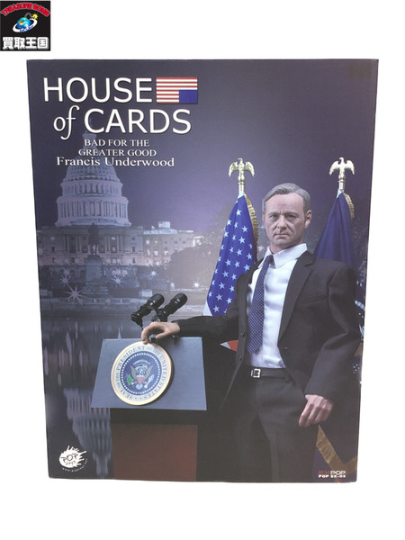 1/6 POP TOYS HOUSE of CARD アメリカ大統領 野望の階段【中古】