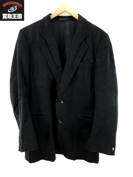 Y's ワイズ カッティングデザイン ヨウジ ヤマモト2B テーラードジャケット BLACK 2【中古】