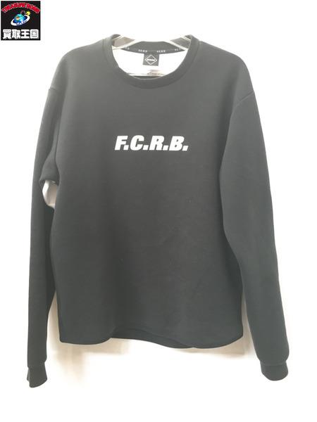 F.C.R.B. SLEEVE LOGO CREW NECK TOP 【中古】
