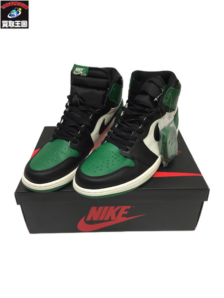 NIKE NIKE AIR JORDAN 1 RETRO HIGH OG PINE GREEN 29.0cm【中古】