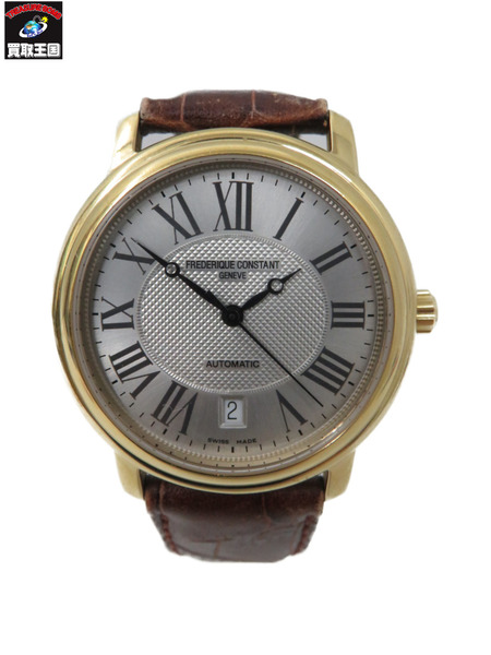 FREDERIQUE CONSTANT/AT/裏スケ/革ベルト【中古】, アメリカより厳選買付け:リンクル:e8b14d35 --- officewill.xsrv.jp