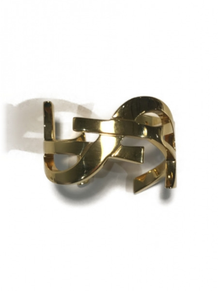 SAINT LAURENT PARIS MONOGRAM CUFF【中古】[▼]