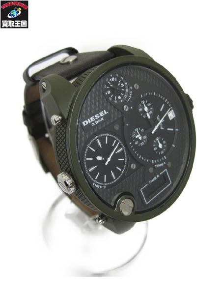 DIESEL【中古】 DZ-7250 ディーゼル 腕時計 フォータイム ビッグダディ DZ-7250【中古 フォータイム】, 茅部郡:2edd0c14 --- officewill.xsrv.jp