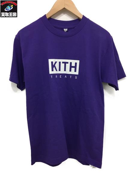 KITH TREATS キス トリート 半袖 紫 S【中古】