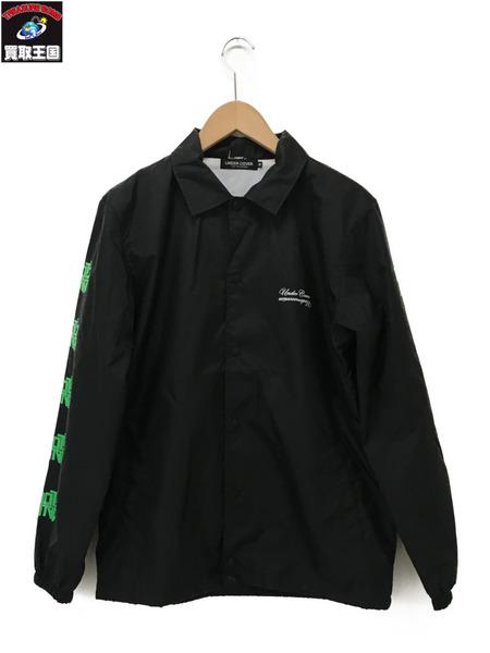UNDERCOVER 16SS B-BONE COACH JACKET/プリントコーチジャケット M 黒【中古】
