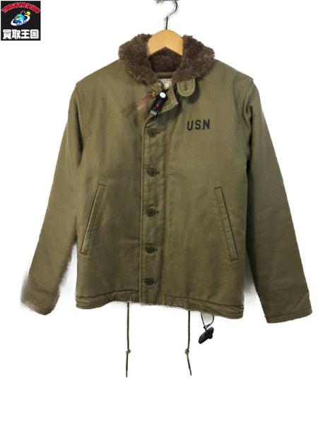 HOUSTON N-1 デッキジャケット (36) BEG【中古】