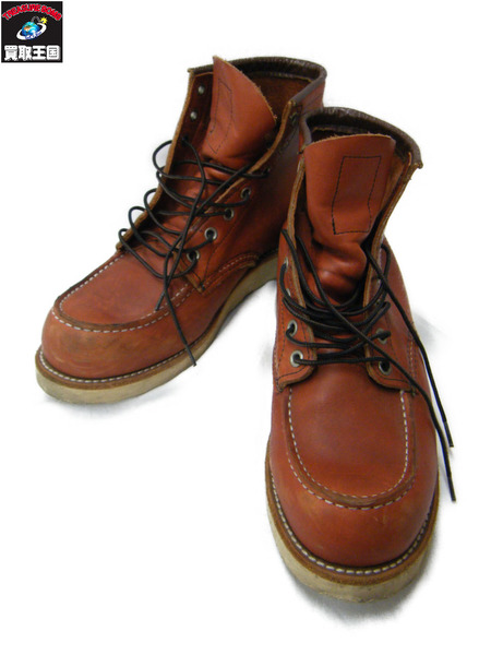 RED WING CLASSIC WORK MOC TOE BOOTS 8875 UK8【中古】
