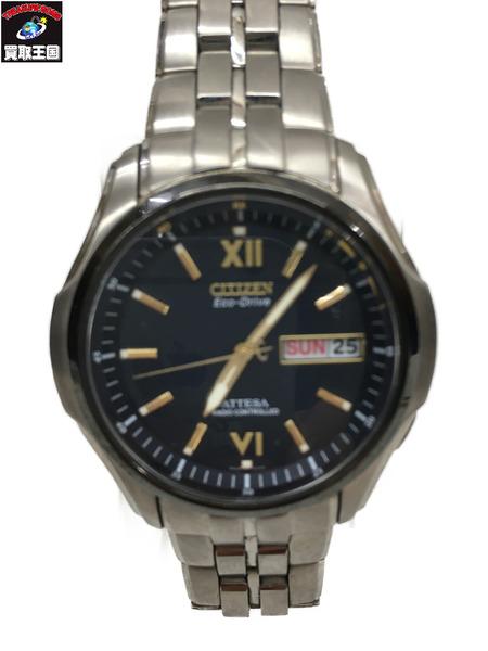 CITIZEN/シチズン/H100-T011357/アテッサ エコドライブ/電波ソーラー 腕時計【中古】