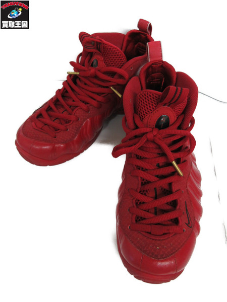 NIKE AIR FOAMPOSITE PRO GYM RED (27.0) 624041-603【中古】[▼]