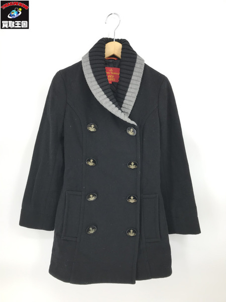 Vivienne Westwood red label ウールコート 黒 2【中古】[▼]