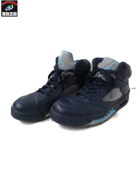 NIKE/AIR JORDAN 5 RETRO MIDNIGHT/27.5CM【中古】